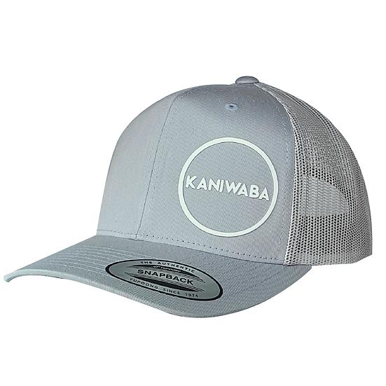 Silver Premium Trucker Hat - White Circle