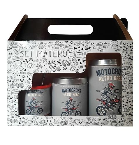 SET MATERO IMPRESO EN CAJITA // LATAS + MATE // D70