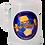 Thumbnail: CHOPP PLASTICO TERMICO FUTBOL 1L // CON AGUA