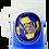 Thumbnail: CHOPP PLASTICO TERMICO FUTBOL 400 CC // CON GEL COLOR
