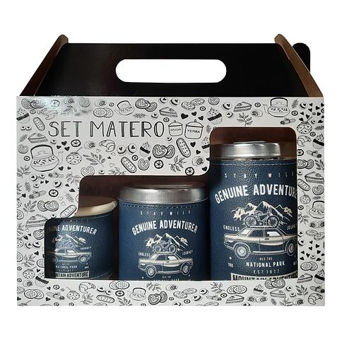 SET MATERO IMPRESO EN CAJITA // LATAS + MATE // D96