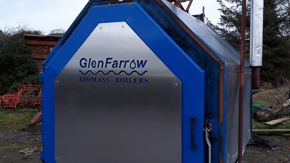 Glen Farrow Boiler 125KW