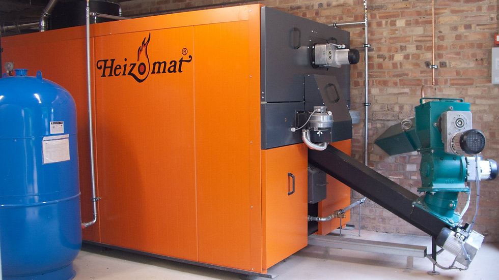 Heizomat 1Megawatt boiler