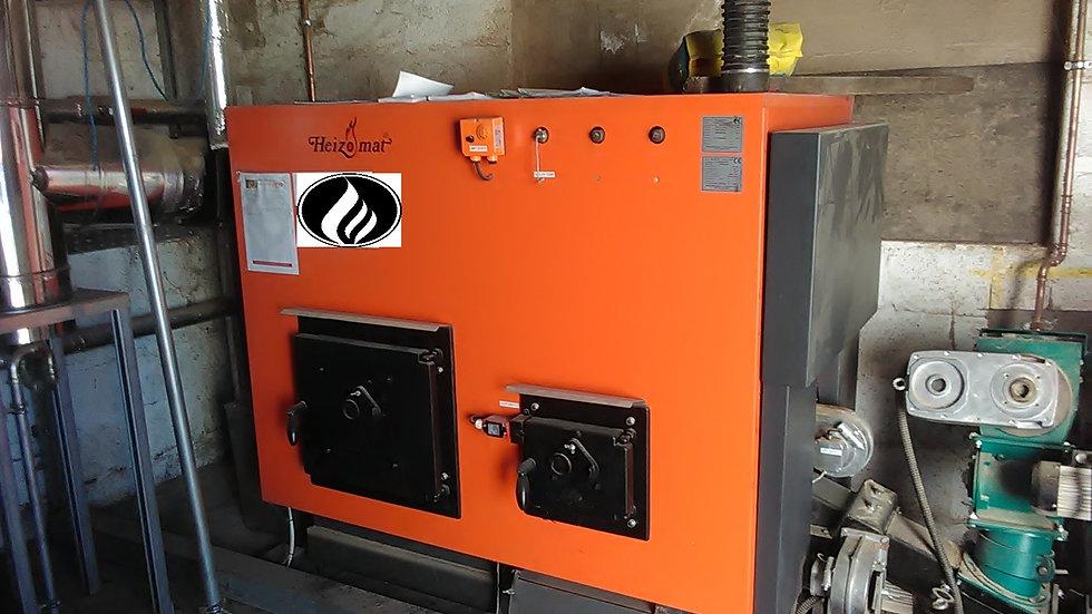 Heizomat 100KW pellet boiler