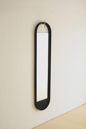 This__ wall mirror (black)