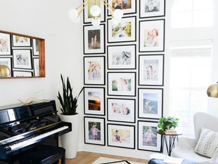 Four Family Photo Gallery Walls That You Need Right Now