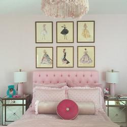 Vintage Barbie Gallery Wall
