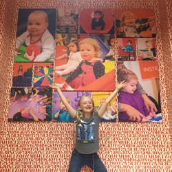 Kidville Gallery Wall
