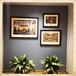 Office wall grouping