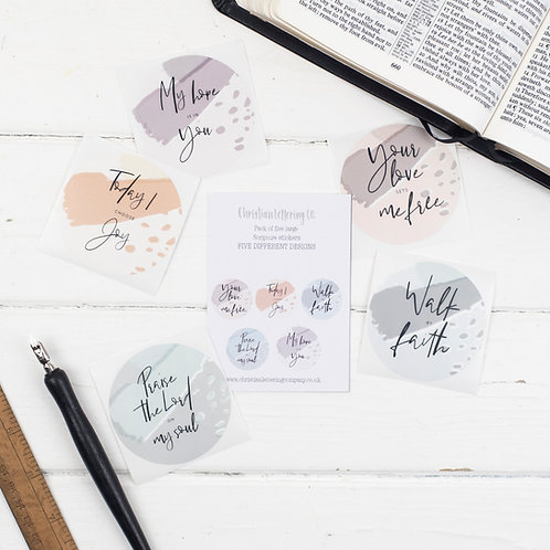Bible Journal Stickers