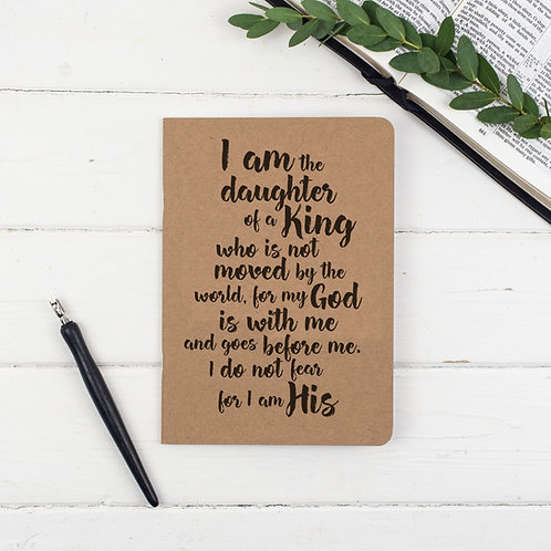 Daughter Of a King Prayer Journal