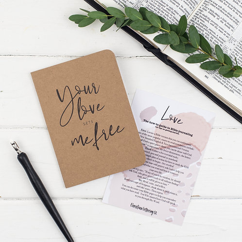 Love Mini Prayer Journal