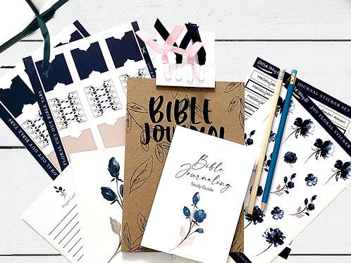Bible Journaling STARTER Kit - Joy Floral