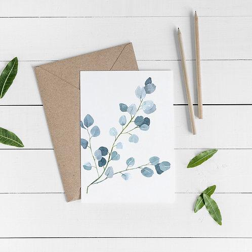 Botanical Occasional Card - Psalm 33:5