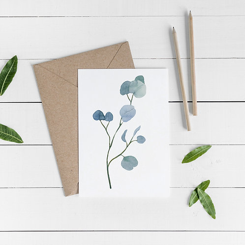 Botanical Occasional Card - Psalm 33:5