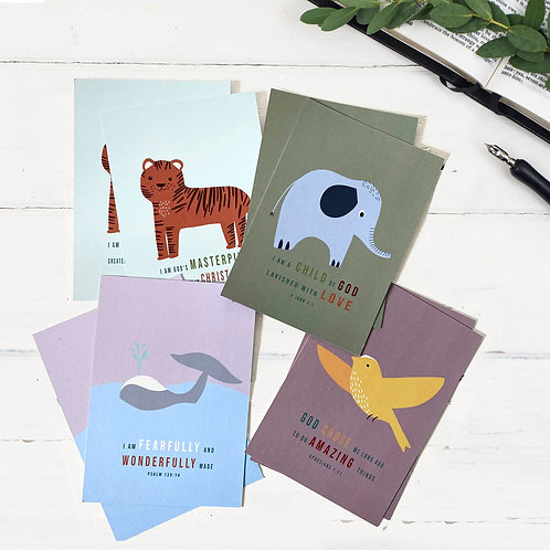 Fearfully And Wonderfully Made Postcards - Set of 8