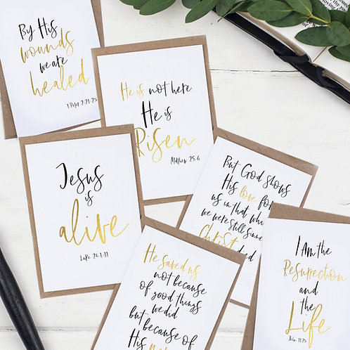 He Is Risen Easter Cards - Set of Six