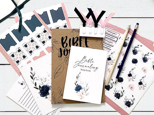 Bible Journaling STARTER Kit - Grace Floral