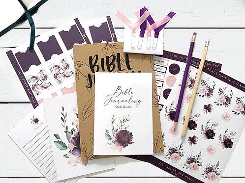 Bible Journaling STARTER Kit - Peace Floral