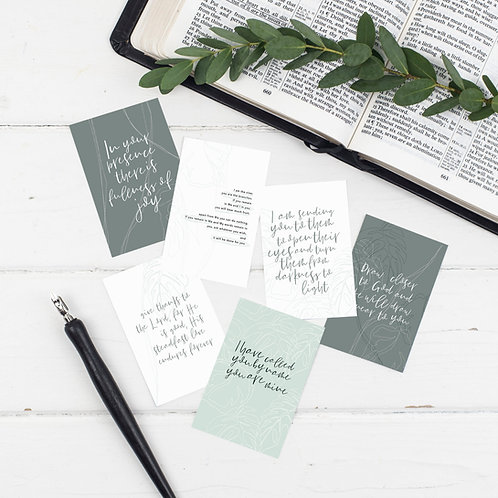 True Vine Mini Scripture Cards