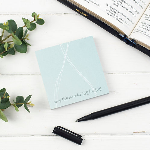Pray This! Journaling Memo Block Notepad