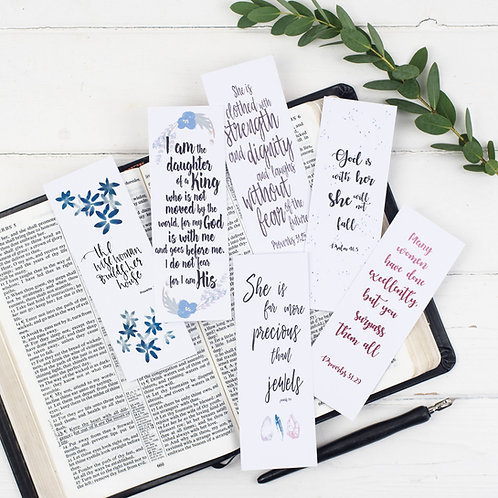 Scripture Bookmarks For Her