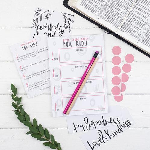 Bible Study Set For Kids - Glory