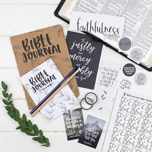 Bible Journaling 'Gracious' Starter Kit