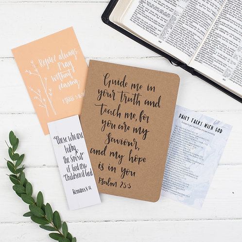 Journal Encouragement Gift Set