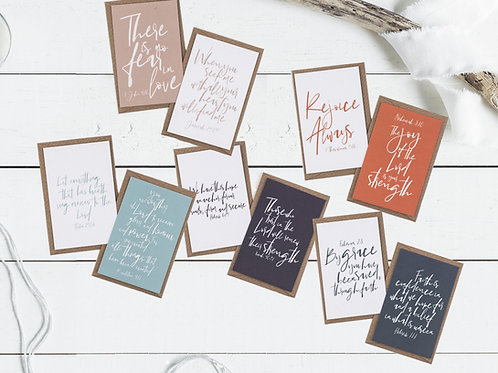 Contemporary Mini Scripture Cards