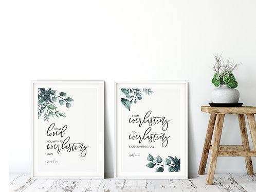 Everlasting Botanical Print Set