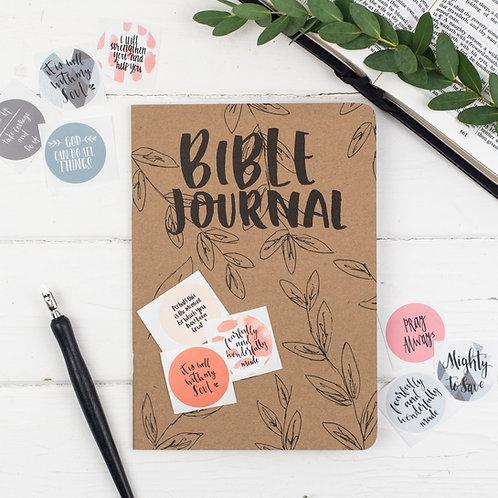 Bible Prayer Journal & Sticker Set