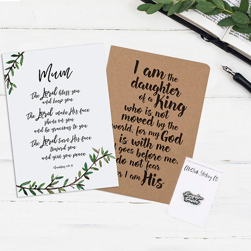 Personalised Gift Bundle For Her - Numbers 6:24-26