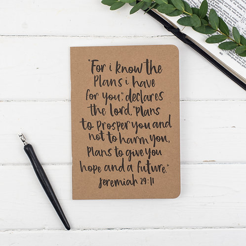 For I Know the Plans Prayer Journal - Jer 29:11