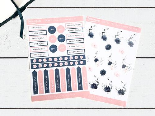 Bible Journaling Sticker Set - Grace