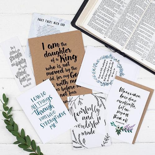 Daughter Of A King Prayer Journal Gift Set