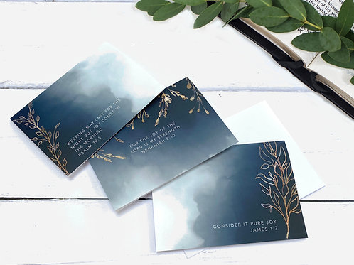 Joy Greeting Cards  - Set of Three
