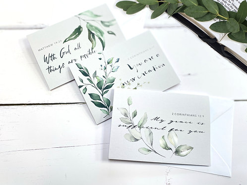 Grace Greeting Cards  - Set of Three