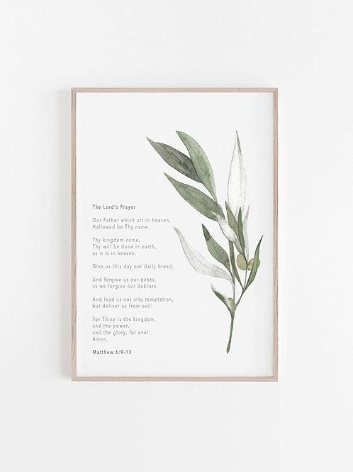 The Lord's Prayer  - Matthew 6:9-13