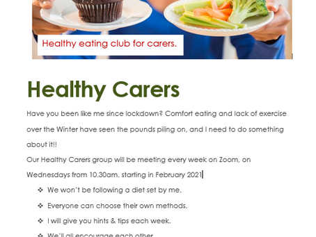 Healthy Carers!