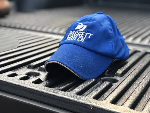Blue Bent Rim Cap