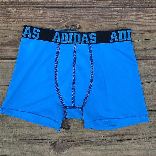 Blue Adidas Spandex Boxer Briefs