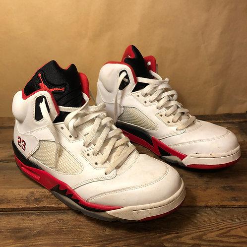 Jordans Retro V Fire Red