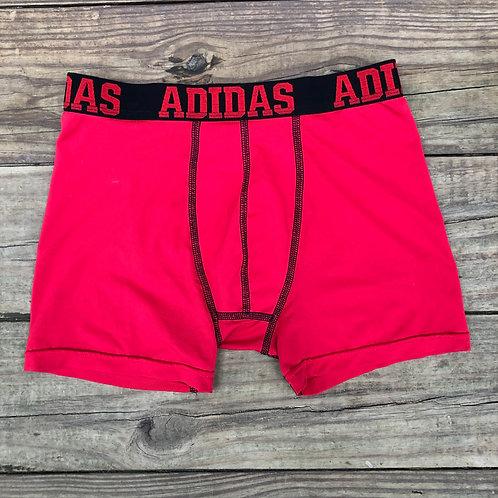Red Adidas Spandex Boxer Briefs