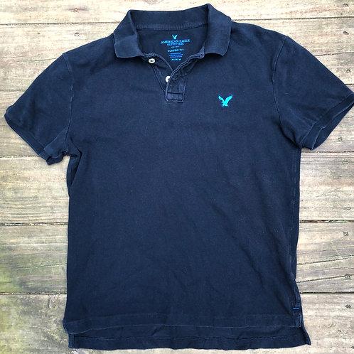 Black/Blue  AE Polo Shirt