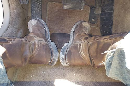 Justin WorkBoots 10.5D Steel Toe