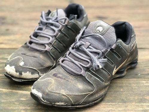 Nike Shox Black/Grey Well Worn