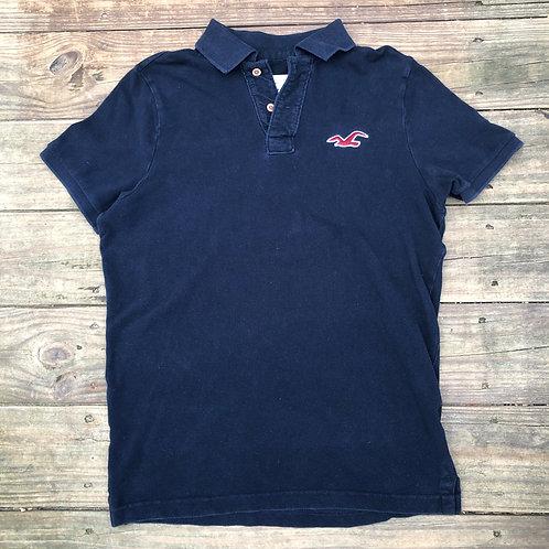 Dark Blue Hollister Polo Shirt
