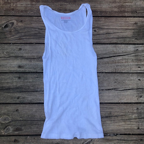 """Finest Quality""""Wife Beater"""" A-Frame White"""
