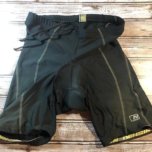 Nishiki Black Padded Shorts